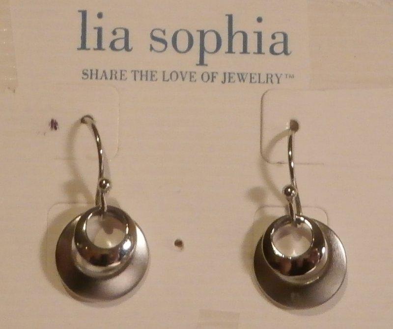 Lia Sophia Full Moon Retired Necklace