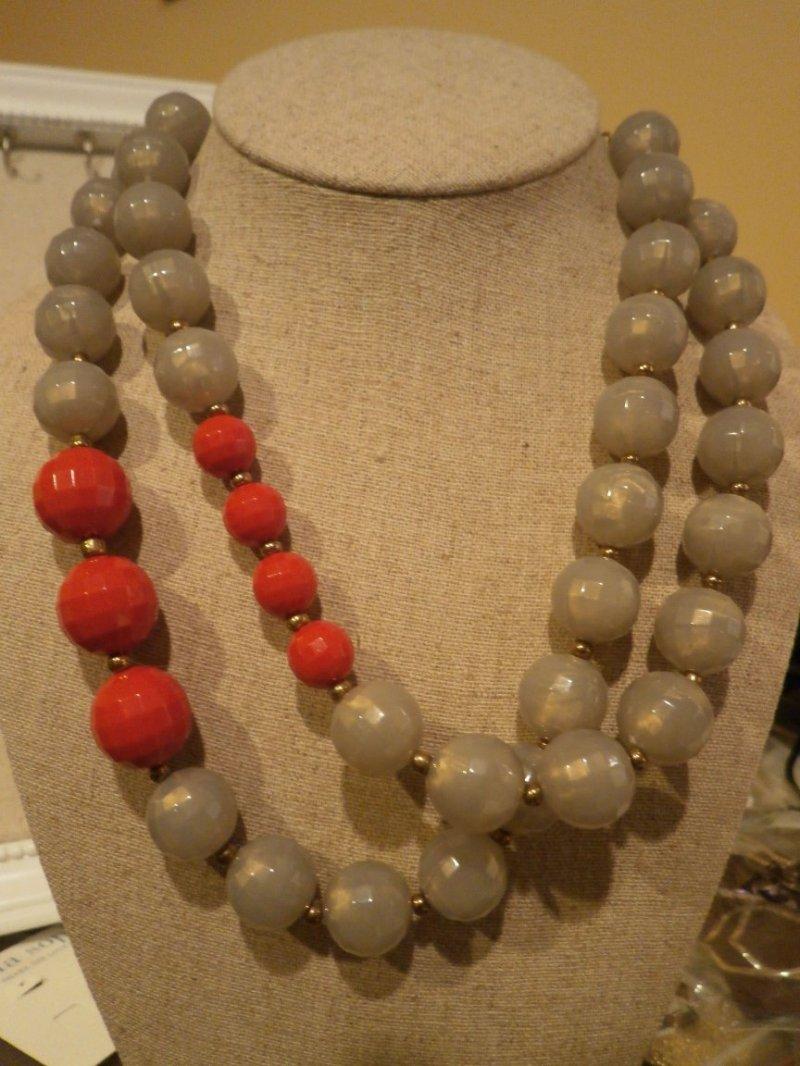 Color block retired premier designs necklace for Premier jewelry catalog 2011
