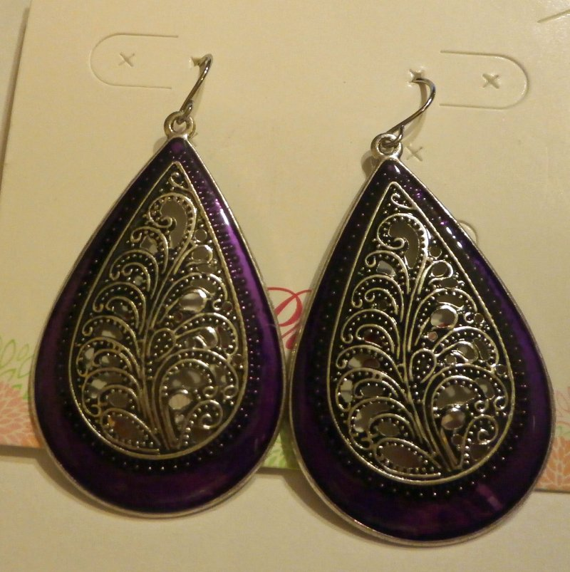 lilac retired premier designs earrings