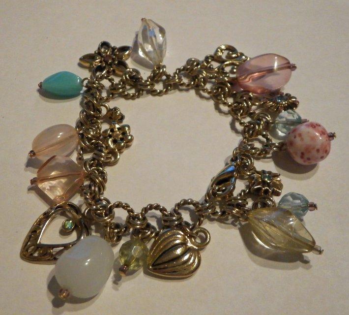 Pandora Retired Lia Sophia Charm Bracelet