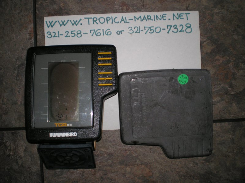 Humminbird TCR101 Fishfinder for PARTS ONLY