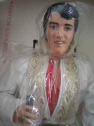 Thumbnail of Elvis Presley Doll Second in the Celebrity Collection World Doll w. Certificate