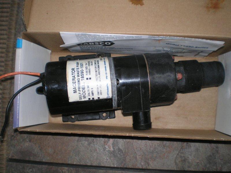 jabsco macerator pump 18590 manual