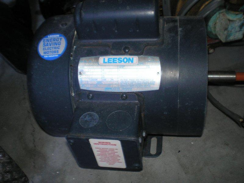 1/2HP pump, 3450RPM, 56, TEFC,
