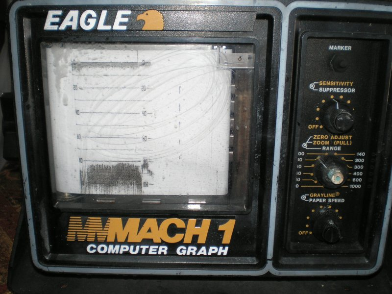 Image 0 of EAGLE MACH 1 by Lowrance Computer Graph display unit for parts or repair