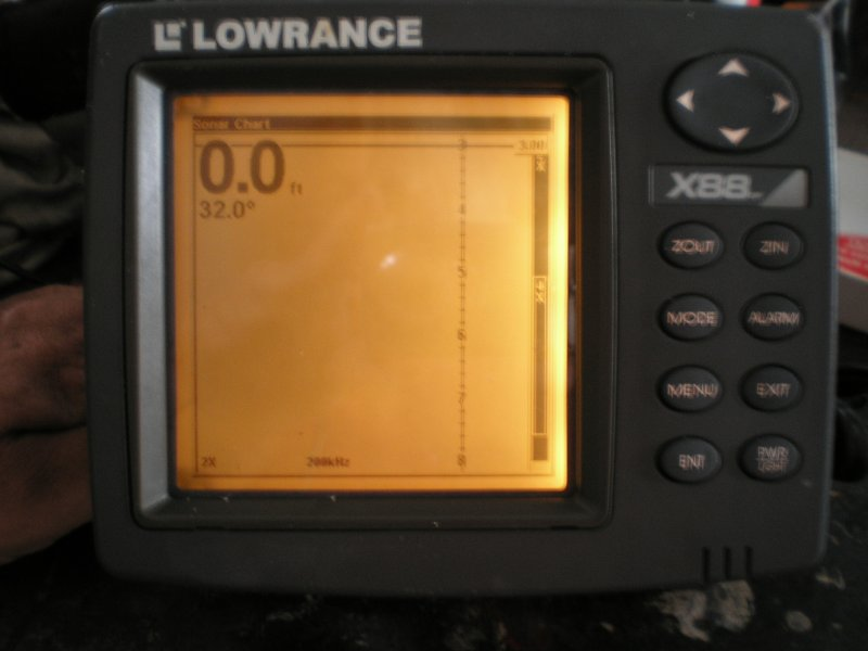 Image 0 of Lowrance X 88DF Dual Frequency Fishfinder