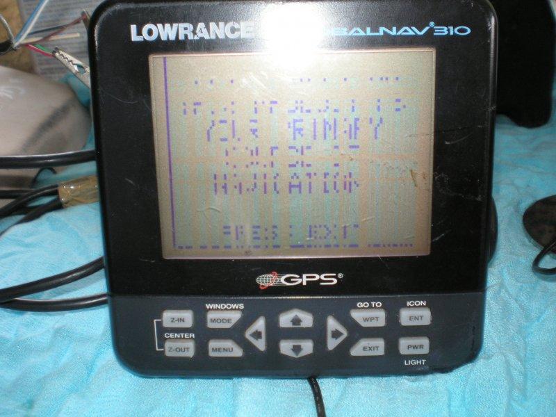 Lowrance Globalnav 310