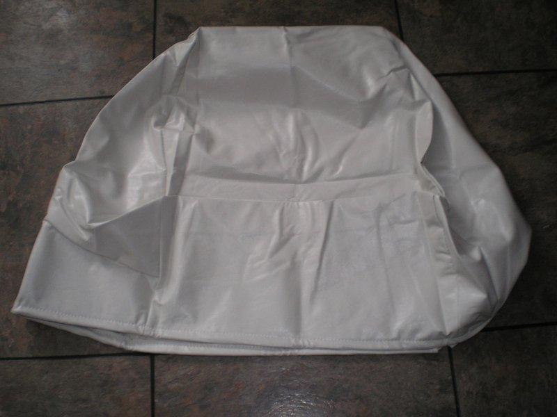 Image 0 of CAPTAIN'S CHAIR COVER  WHITE  Deluxe Captain's Chair Cover