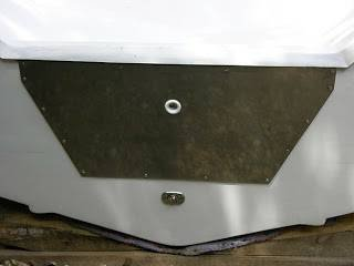 Image 0 of Stainless Steel Transom Plate