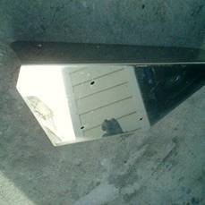 Image 1 of Stainless Steel Transom Plate