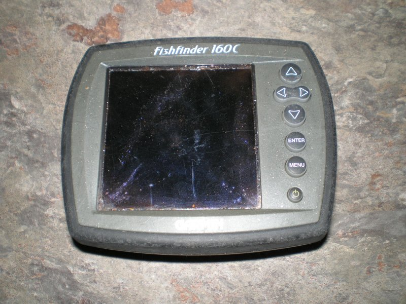 Garmin Fishfinder160C  FOR PAR