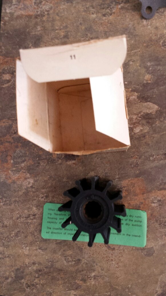Impeller for Volvo Penta