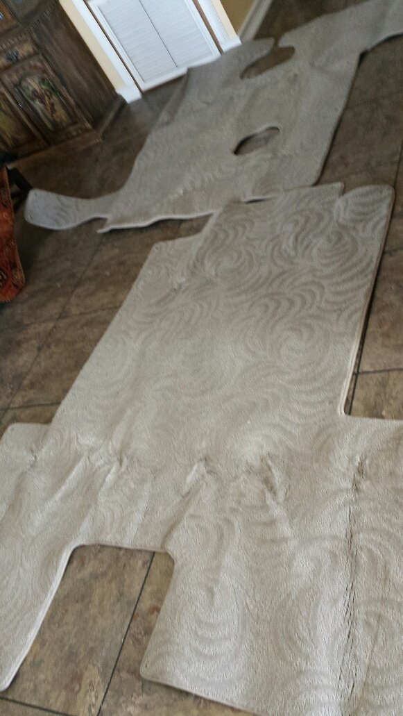 Image 1 of Hurricane Deck Boat 196 Boat Full carpet (New) Grey color
