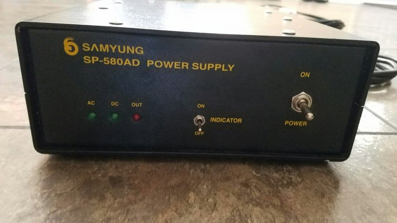 SAMYUNG SP-580 AD POWER SUPPLY