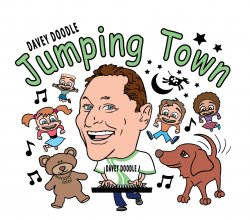 Davey Doodle Jumping Town CD with jewel case