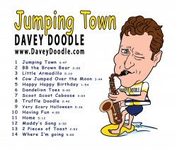 '.Davey Doodle Jumping Town.'