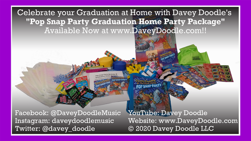 Image 0 of Pop Snap Party Graduation Home Package