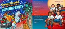 Pop Snap Party Album CD by Davey Doodle & the Red Hots