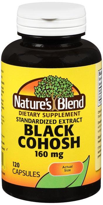 Natures Blend Black Cohosh Extract 160 mg Cap 120
