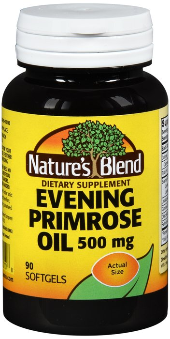 Natures Blend Evening Primrose Oil 500 Mg Soft Gel 90