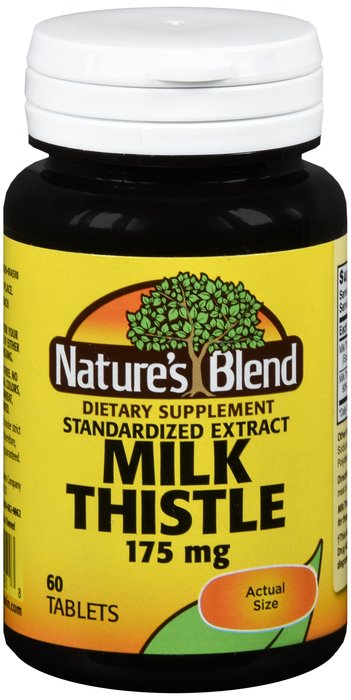 Milk Thistle 175 Mg Tab 60