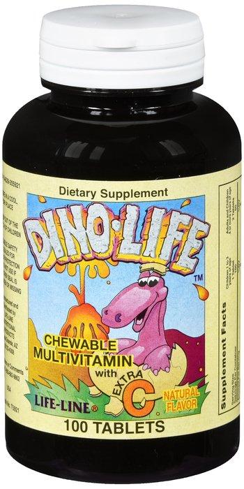 National Vitamin Multivitamin Child Chew + C Dino 100