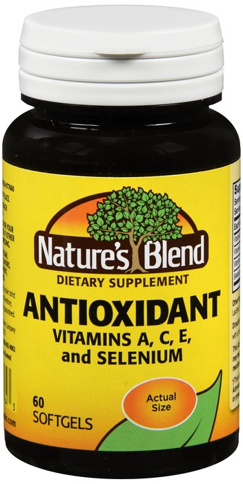 Natures Blend Vitamin A, C, E 60 Softgel